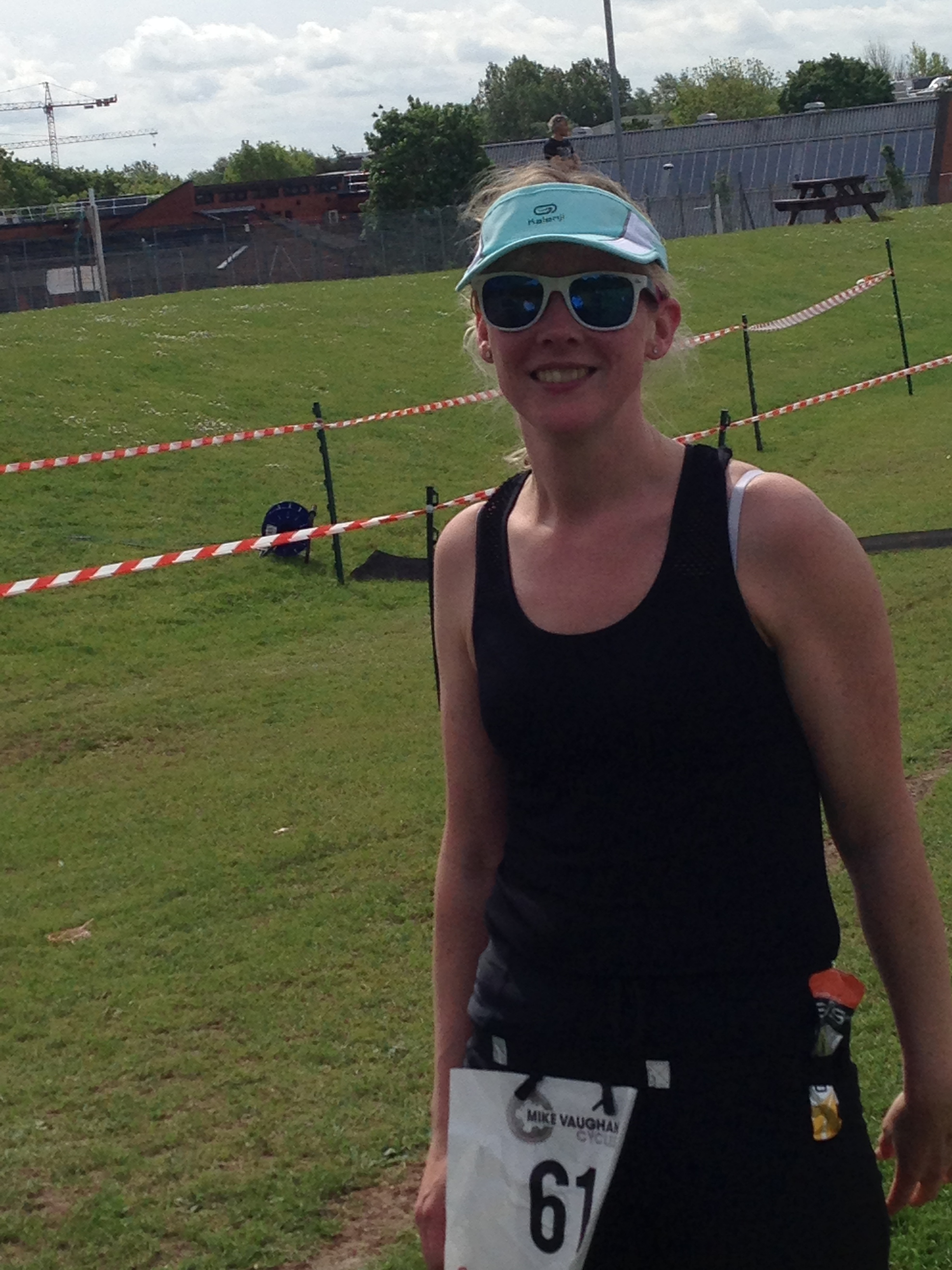 Nicki (Coventry) - Completing the Coventry triathlon in aid of BAD-UK.