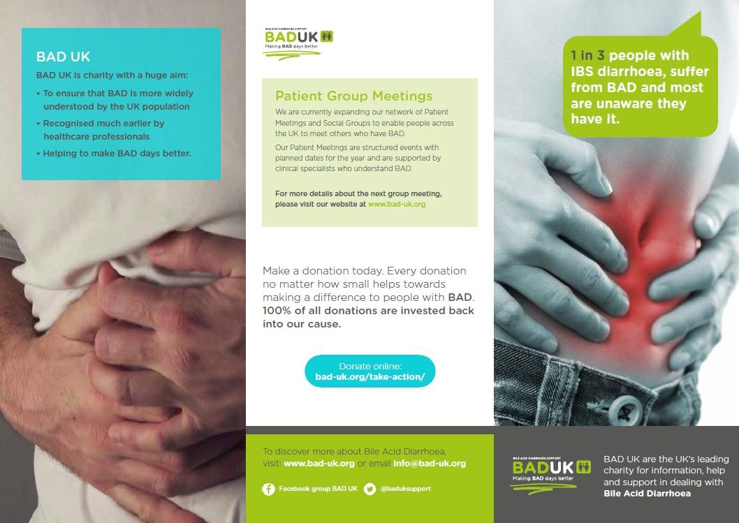 BAD UK Charity Information Leaflet -
