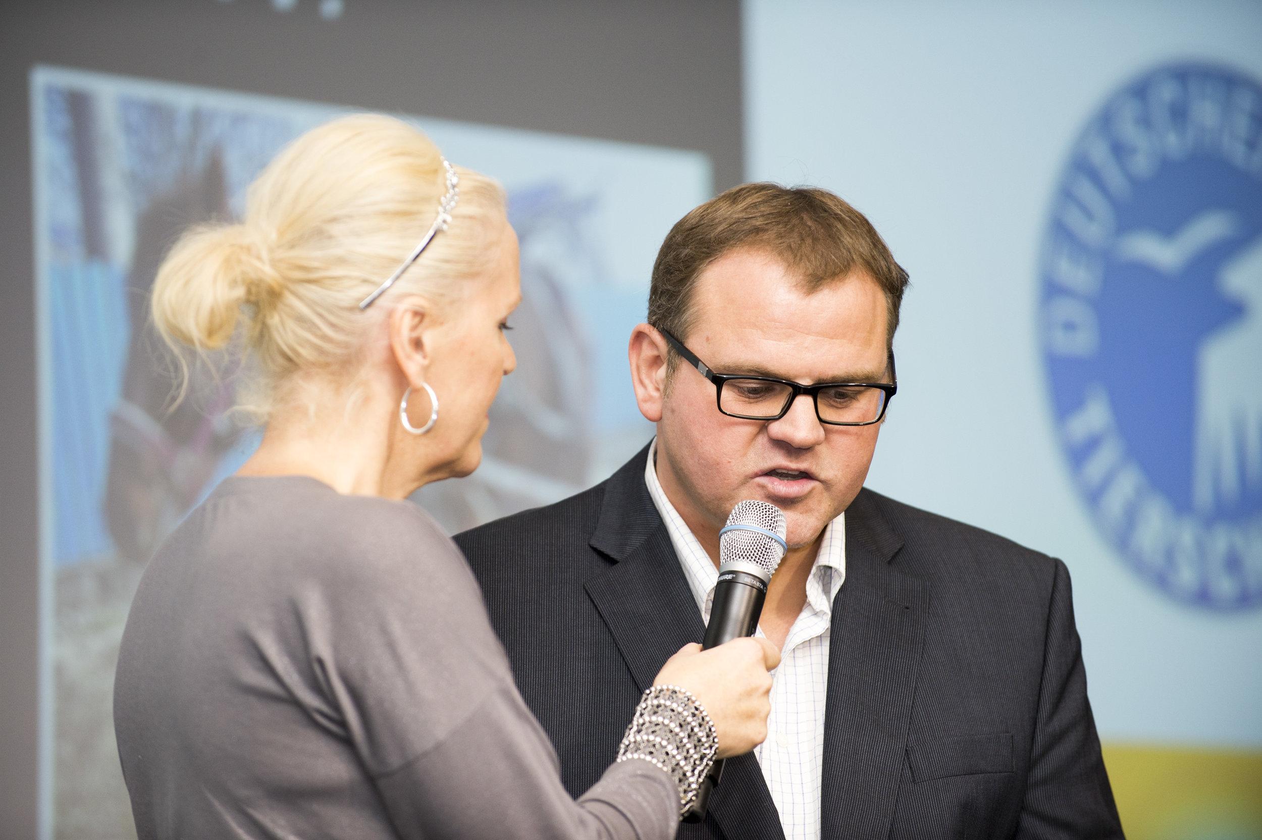 Berlin, Axel Springer- Haus. 2013 wurde der deutsche Tierschutzpreis an Markus Raabe vergeben.