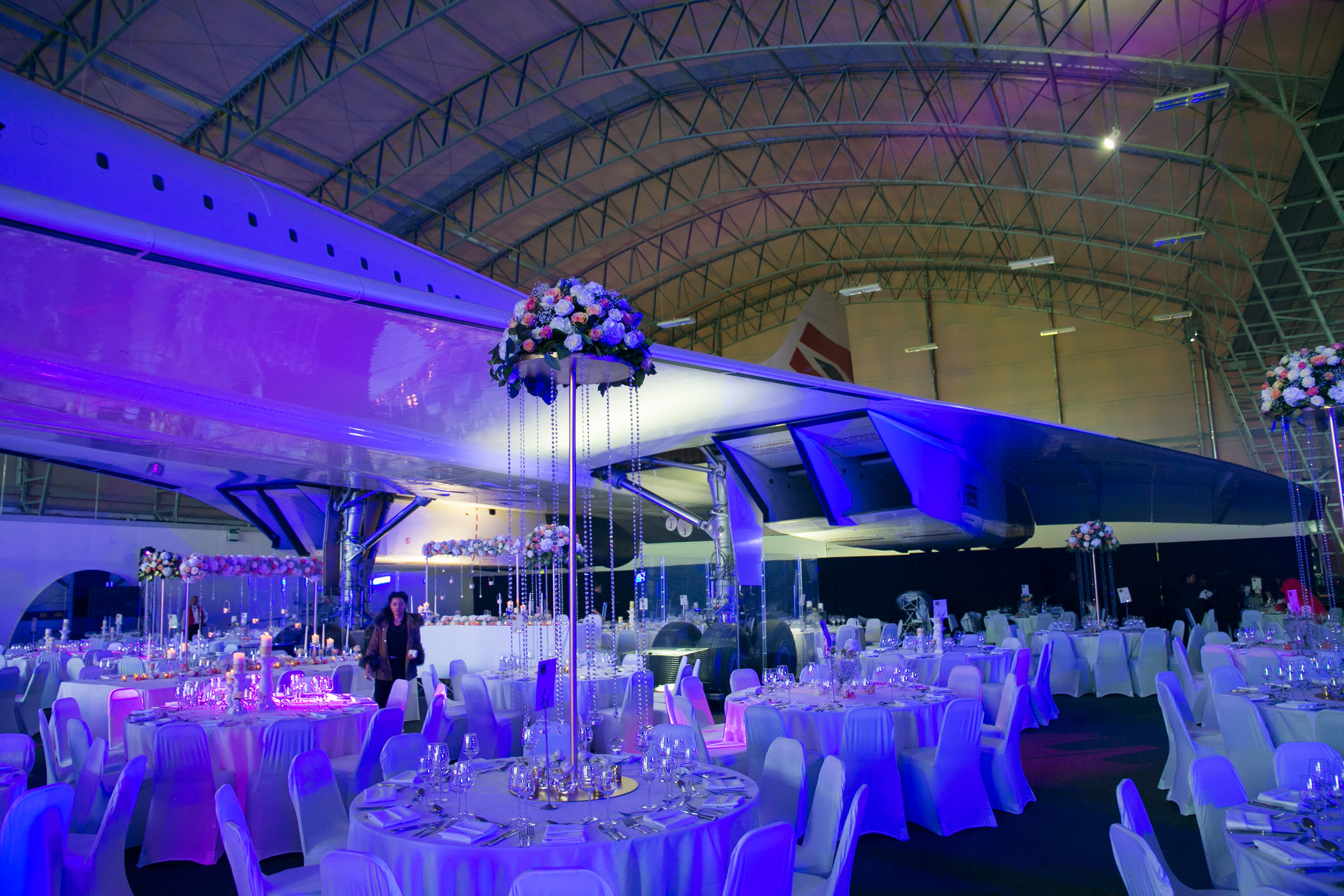 An incredible venue in Manchester that we covered - That's a real Concorde!