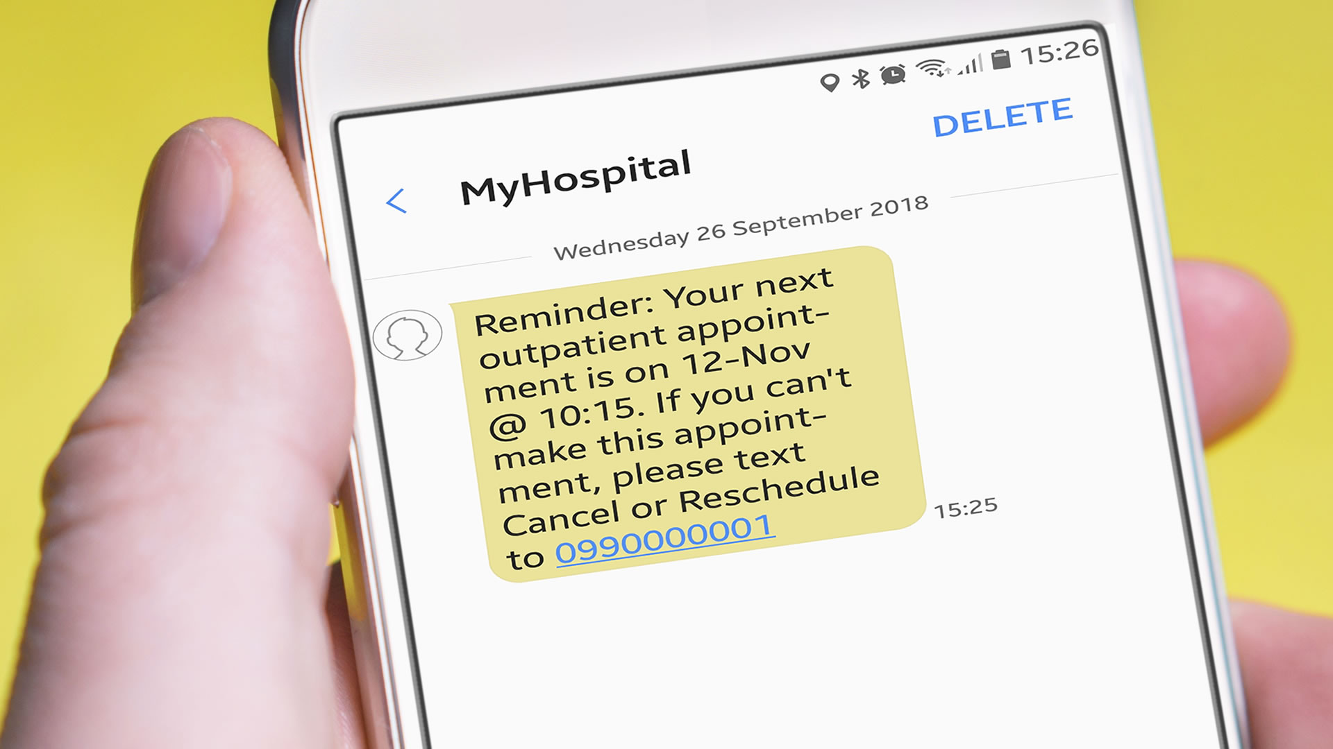 Patient <br /> Appointment <br /> Reminders
