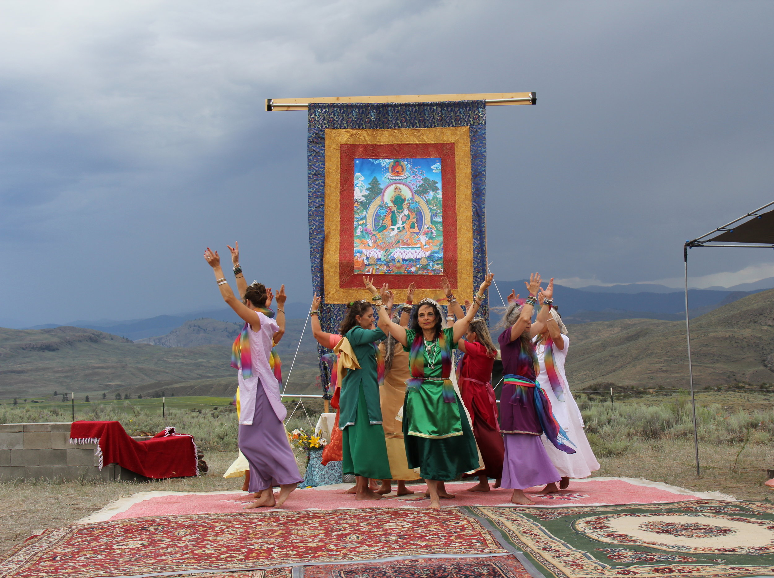 Photo from the Annual Tara Festival in Tonasket, WA