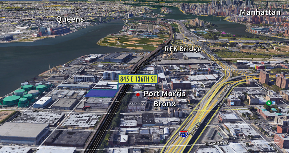 Minutes to Hunts Point Markets, LGA & JFK Airports; 4 free bridges to Manhattan -