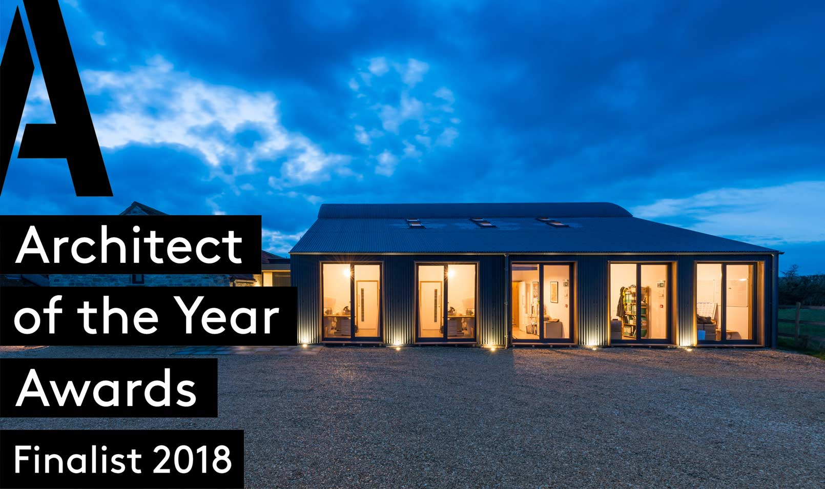 Small Project Architect of the Year - Finalist for the highly  esteemed Building Design – Architect of the Year Awards 2018 in the category of small project architect of the year
