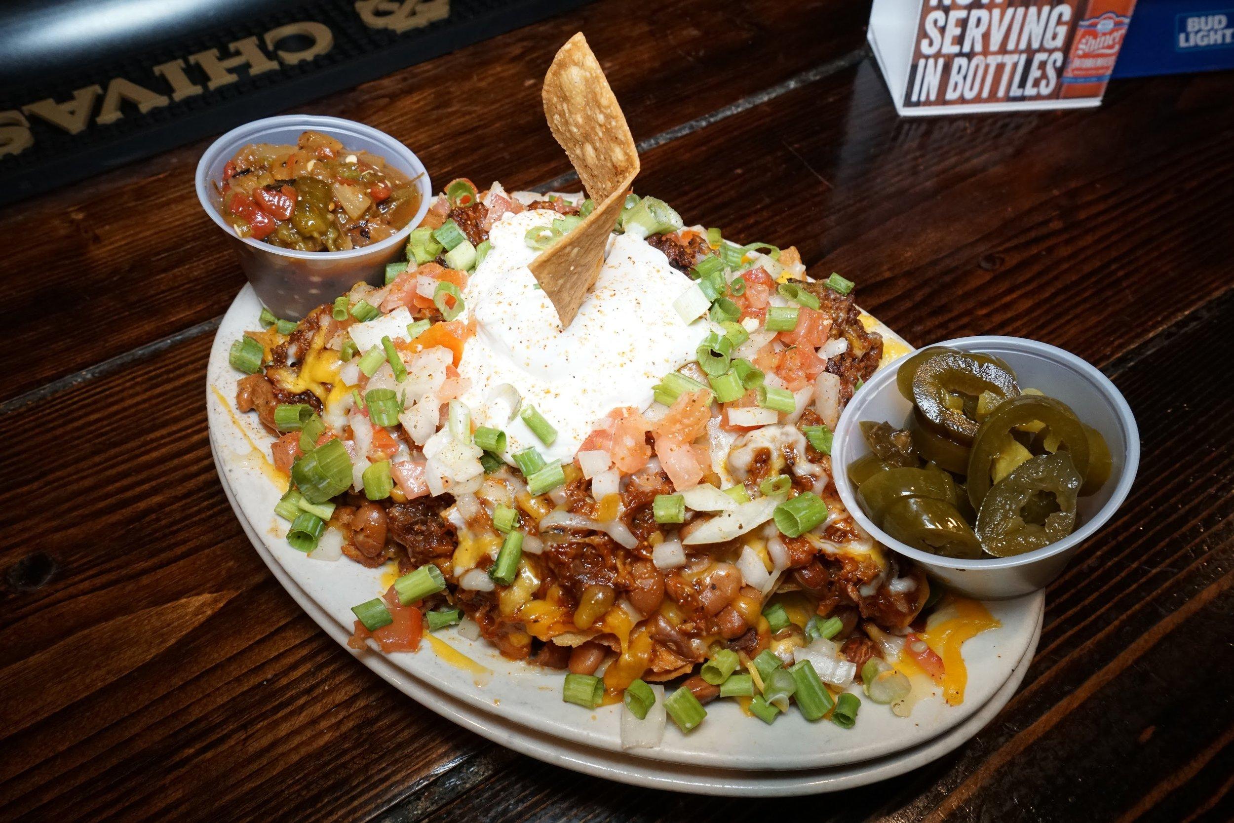 rib hut El Paso nachos