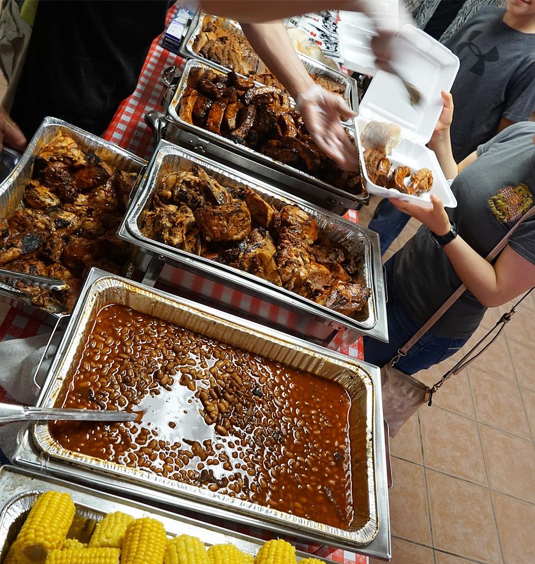 rib hut catering El Paso