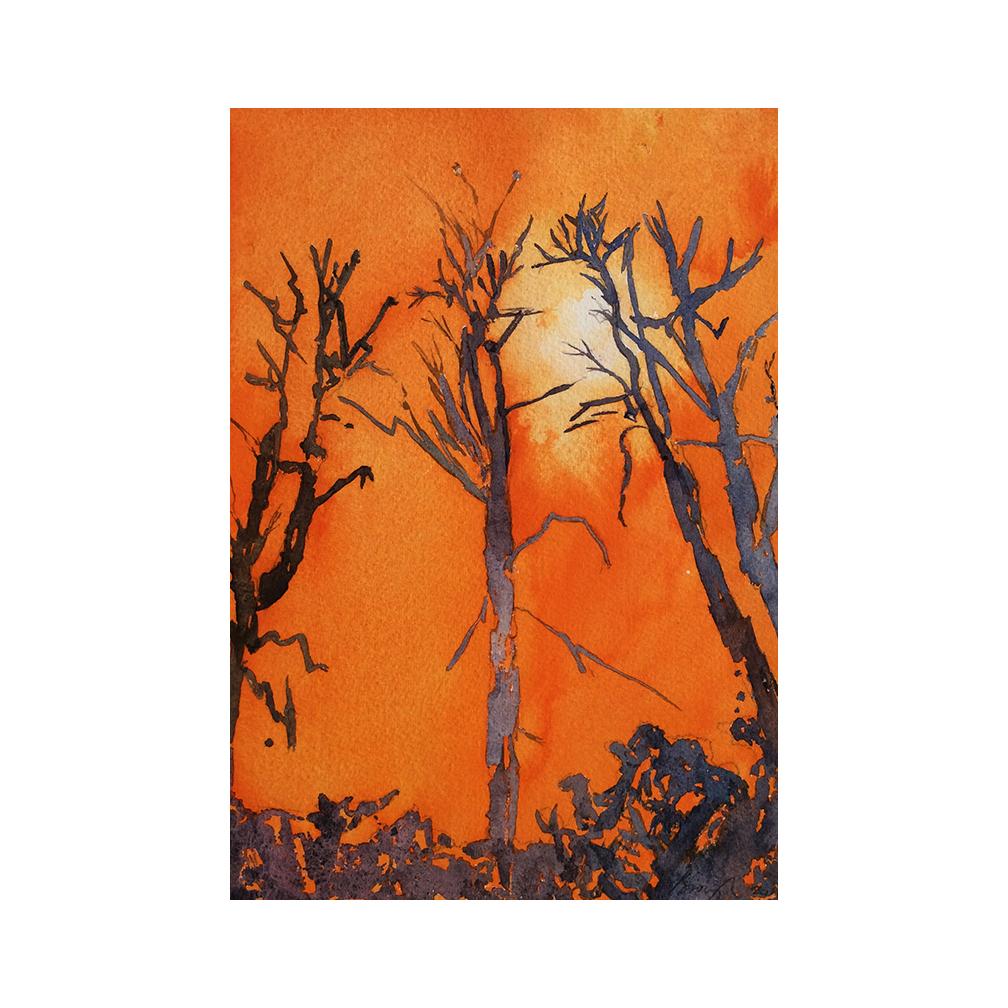 Road to calais- watercolour on paper-23 x 18 cm_2016.jpg