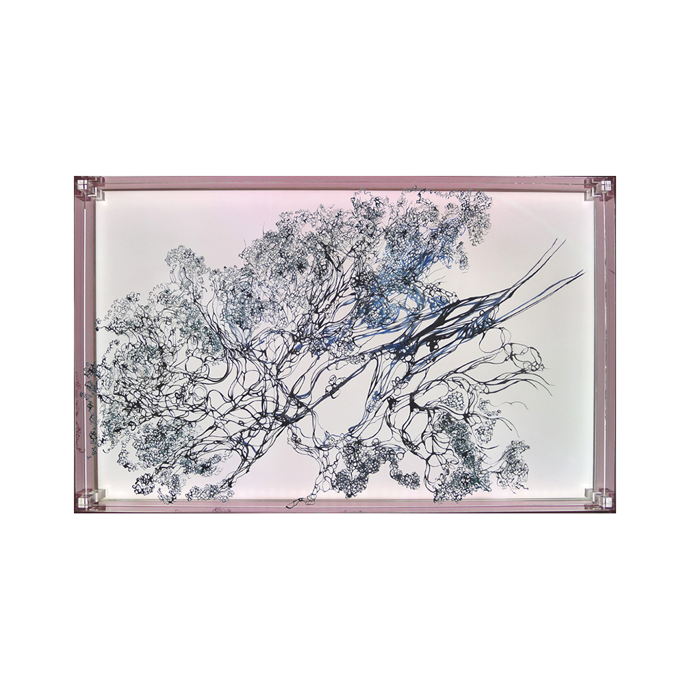 17_Oriental Luminescence_Rose Flora_70 cm x 46 cm x 10 cm__2012.jpg