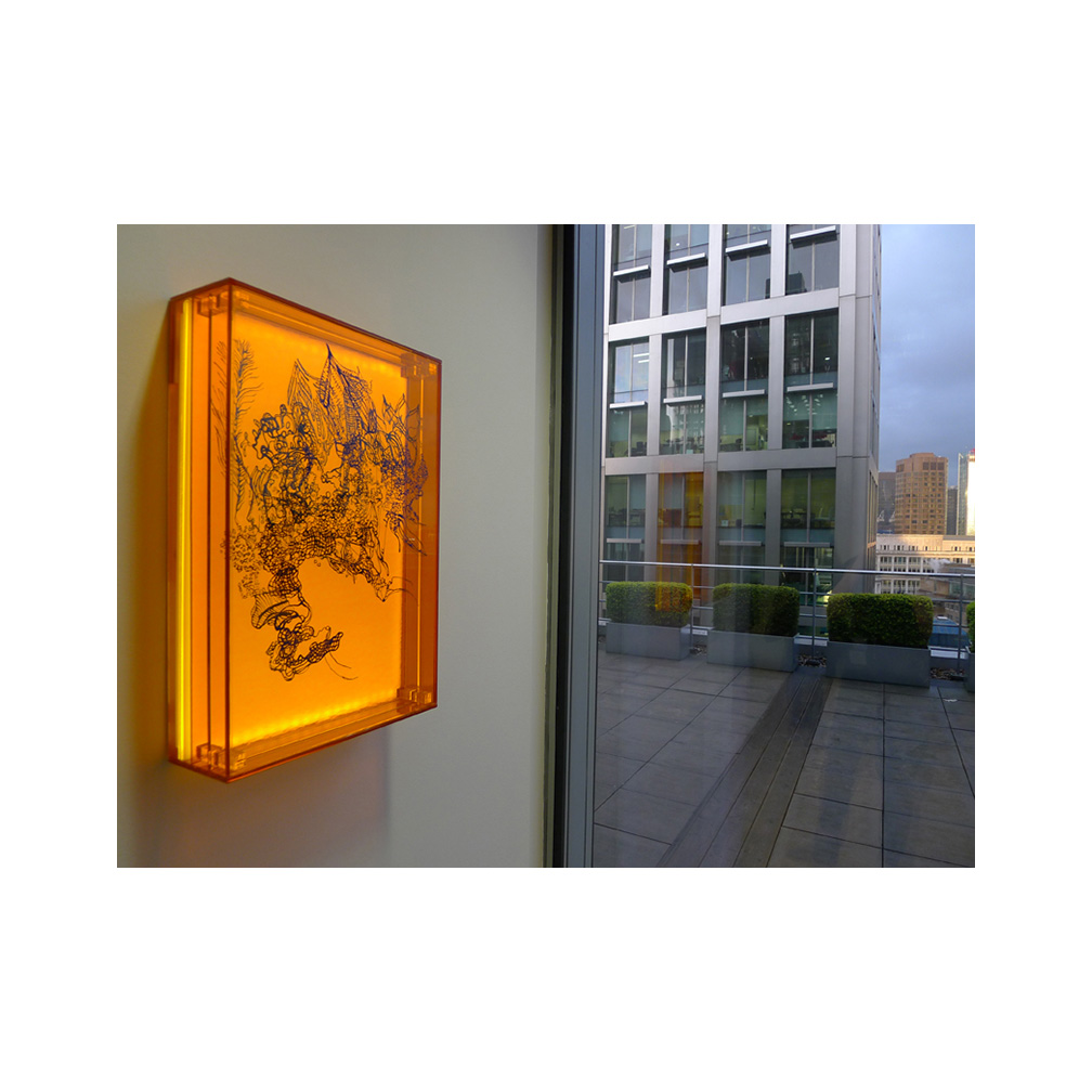 18_Oriental Luminescence_Tangerine Array_30 cm x 46 cm x 10 cm_2012.jpg