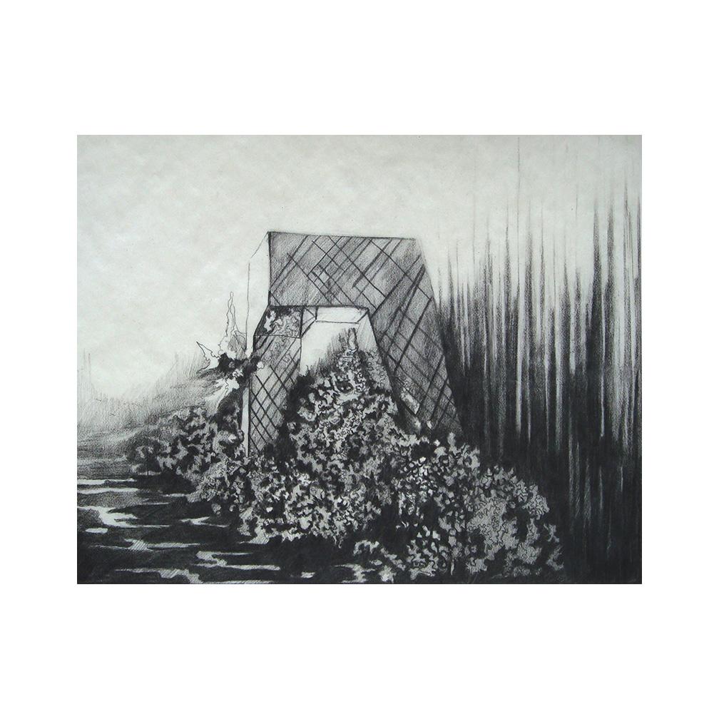 03_Cataclysmic Hypotheses study_pencil on tracing paper_20 cm x 15 cm_ Pierogi Flat Files Brooklyn NY_2005.jpg