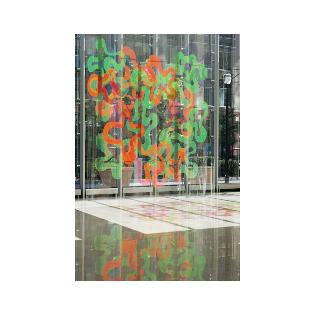01_Nebulous Echoes_plastic_500 cm  x 500 cm_Plaza 5 New Jersey_Temporary Installation_2005..jpg