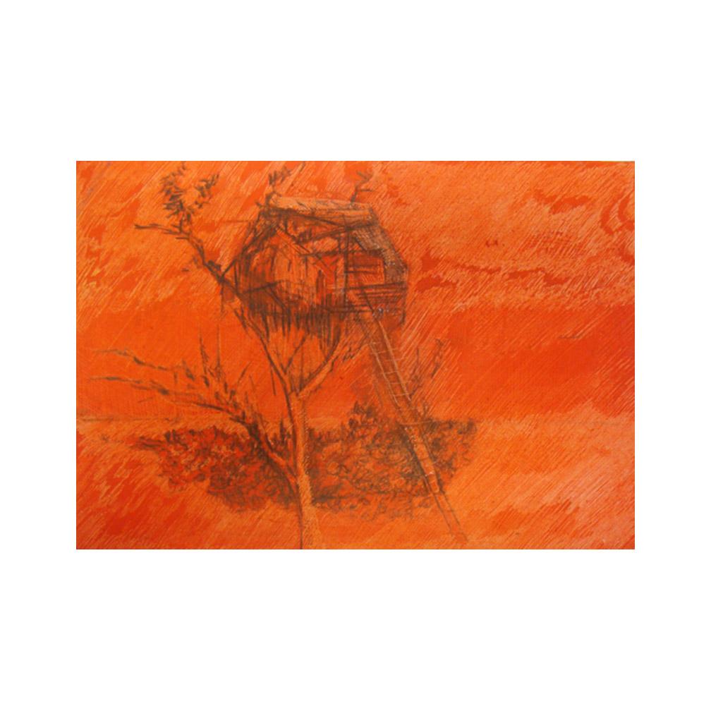 07_Summer Sun_3_2014_oil pastel and pencil on paper_18 cm x 15 cm_2014.jpg