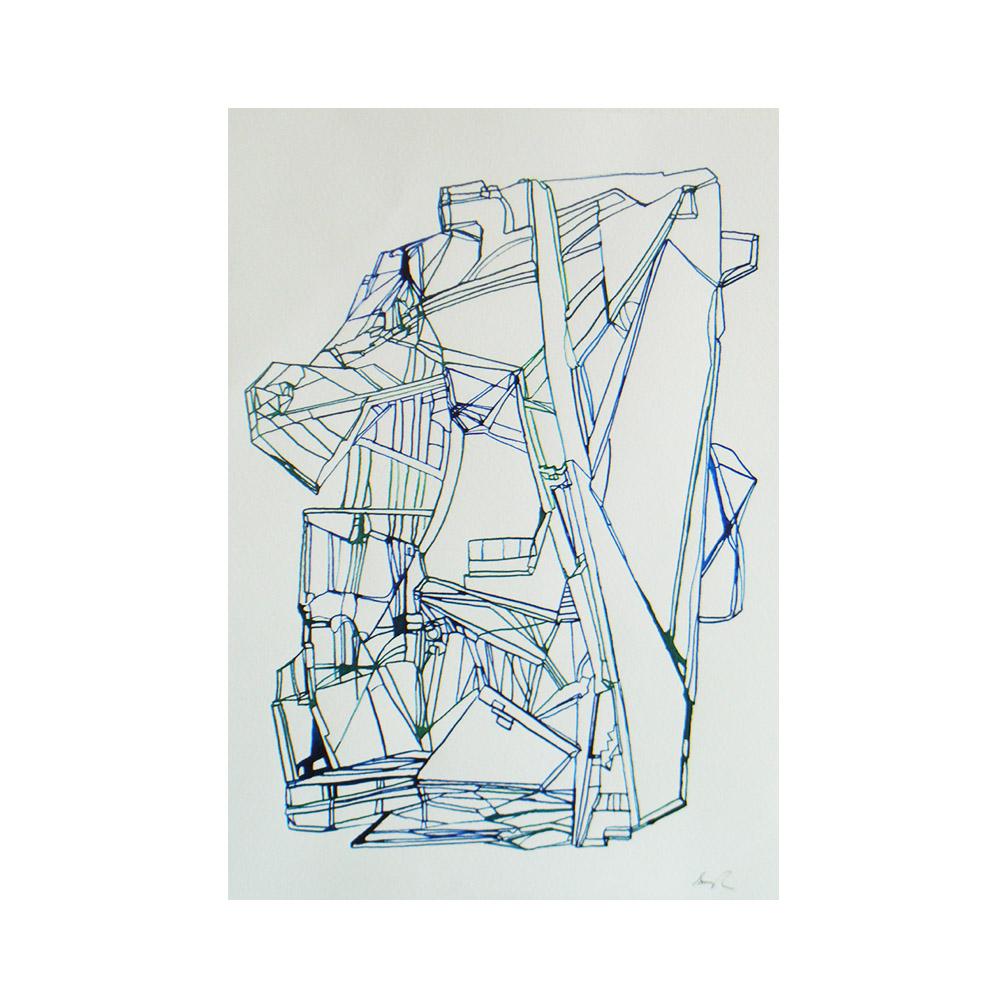 09_Glass Ensemble#9_Ink on paper_30 x 22cm_2014.jpg