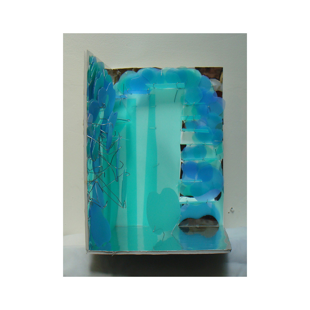 43_Glass Construct#2_paper and acetate_30 x 40 c 20 cm _2014.jpg
