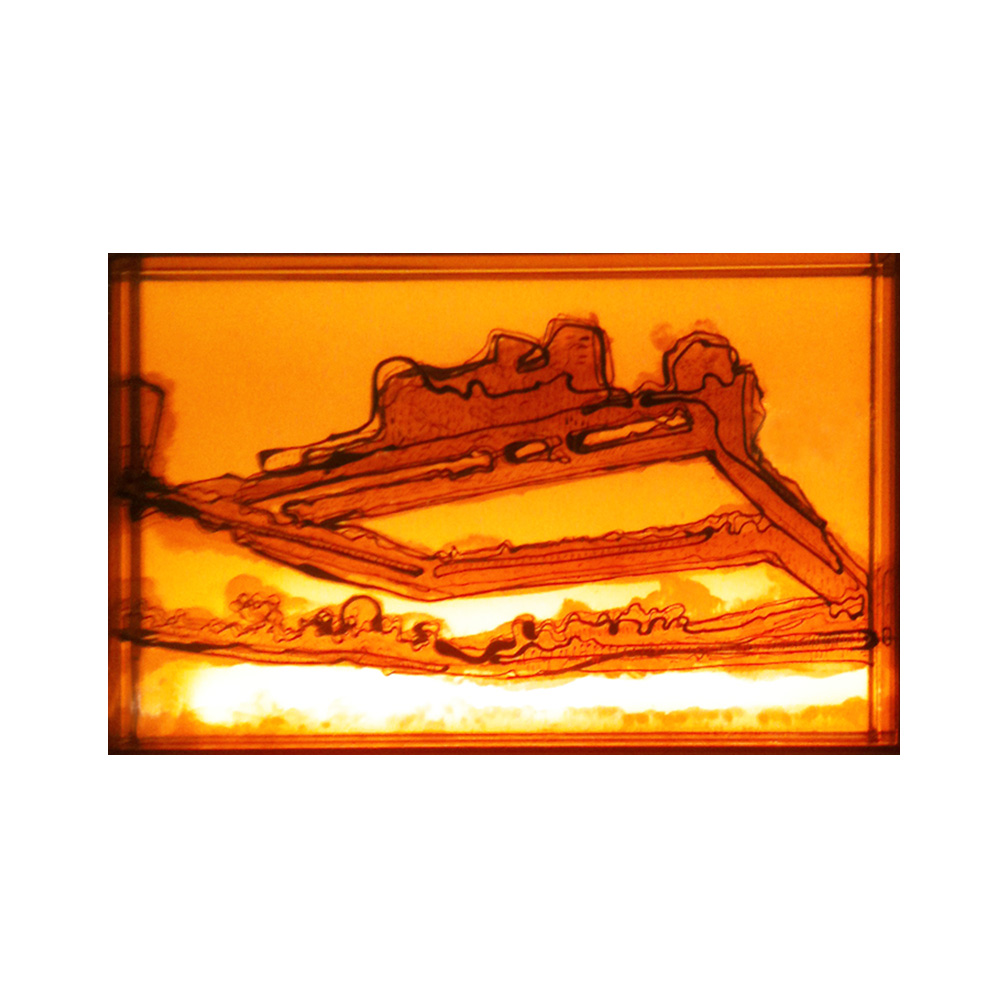 08_Southbank orange_20 cm x 13 cm x 5 cm_painted and fired glass with LED light panel_private collection UKV2013.jpg