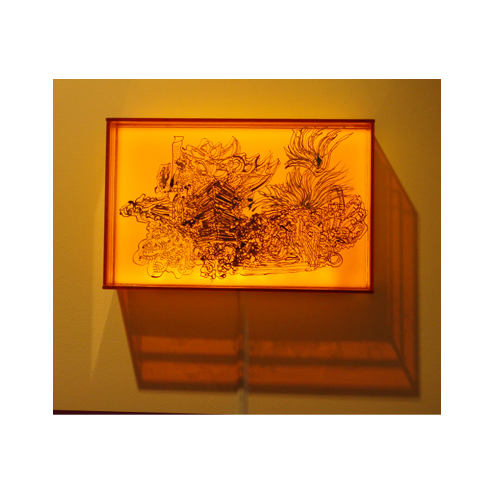 12_Luminous 7_Three layers of painted and fired glass with LED light panel_20 cm x 13 cm x 5 cm_ _private collection UK_2011.jpg