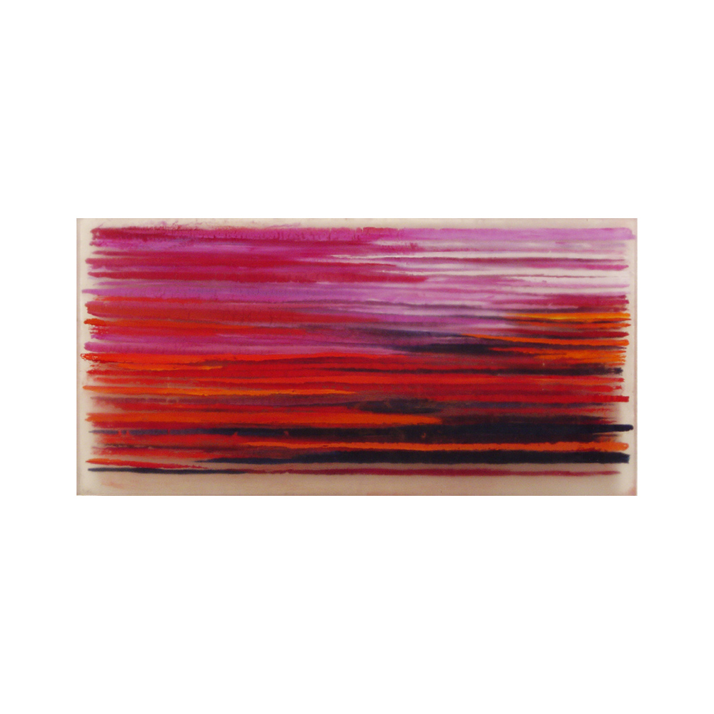20_Urban movements exhibition Kristen Frederickson Gallery Tribeca_ Cadmium Red_oil and resin_60 cm x 30 cm _private collection UK_2003.jpg