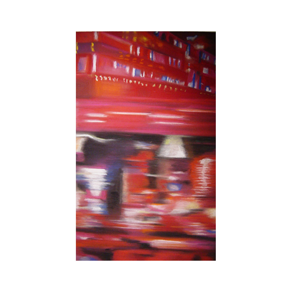 02_Clare Weiss Exhibition_Times square #2_Private Collection New York_Pastel on paper 20 cm x 40 cm 2002_email.jpg