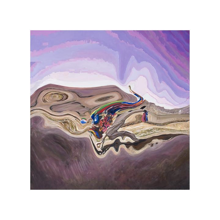 03__Dissembled Vistas_ desert landscape oil on alluminium_ 62 cms x 62 cms_ 2008.jpg