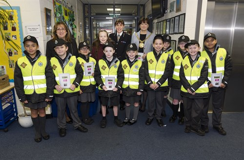 Merseyside Police got some new recruits today! 10 Chrildren from Year 5 were selected to join the Merseyside Police Mini Police Unit. Over the next few weeks, this special unit will be on the beat helping Police in the area and engaging with the local community.