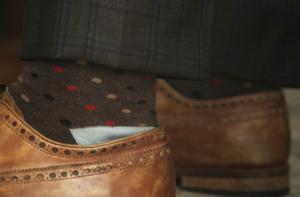 Subtle success socks