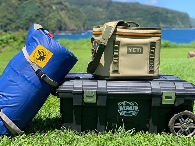 Did a photo shoot with the gear yesterday, the YETI and Paco pad are quite photogenic!  If you have a minute, check out the two pics and let us know which one you think we should use!  Thanks!! #yeti #yeticoolers #mauicampingcompany #jacksplasticwelding #maui