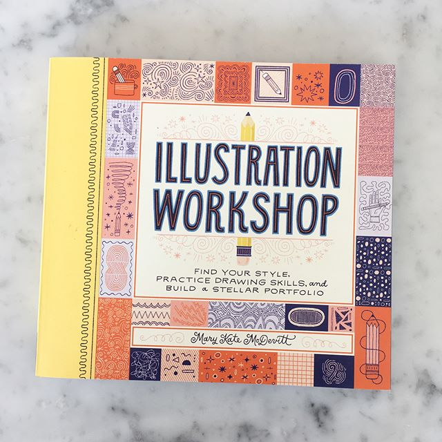 Yay!! ✏️✏️ So excited to share my new book Illustration Workshop with you! There's lots of fun prompts, assignments and challenges to help you create an illustration portfolio or just a reason to make more illustrations! Still a few more months till it's officially released but you should preorder now so it's like a fun surprise when it finally arrives. ✏️✏️ #illustrationworkshop @chroniclebooks