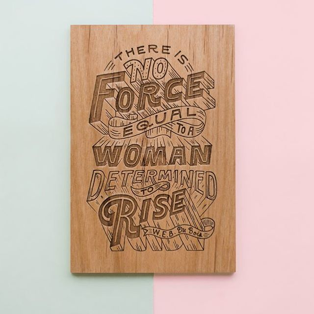 Hey it's #internationalwomensday! So, I thought it'd be fun to share my collaboration with@cardtorial and do a 🎉 GIVEAWAY! I was asked to create a design for their International Women's Day collection. This laser engraved design is available as a journal and as a card. All proceeds from this collection will go straight to ❤️ Planned Parenthood ❤️ Check out their website to see all of the other amazing lettered designs 👉including artists like @phooobers and @roxyprima,@marlamakesstuff ,@sparkletters , @homsweethom and more! Head over to @cardtorial for more info. -- 🎉GIVEAWAY CLOSED 🎉 To enter, leave a comment telling me about a woman or women who inspire you or you look up to as a role model.I will pick 1st, 2nd and 3rd place at random and I'll announce the winners on March 11th 👇 so enter today!  1st place will receive both a journal and a card 2nd place will receive a journal 3rd place will receive a card -- I'll kick it off with a shoutout to my sister @jane032 who is the hardest working person I know and is never not making me laugh. ❤️