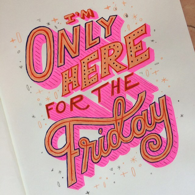 Even a rainy Friday still feels Friday. Made this one Friday a few years ago but figured I'd share it on this Friday.