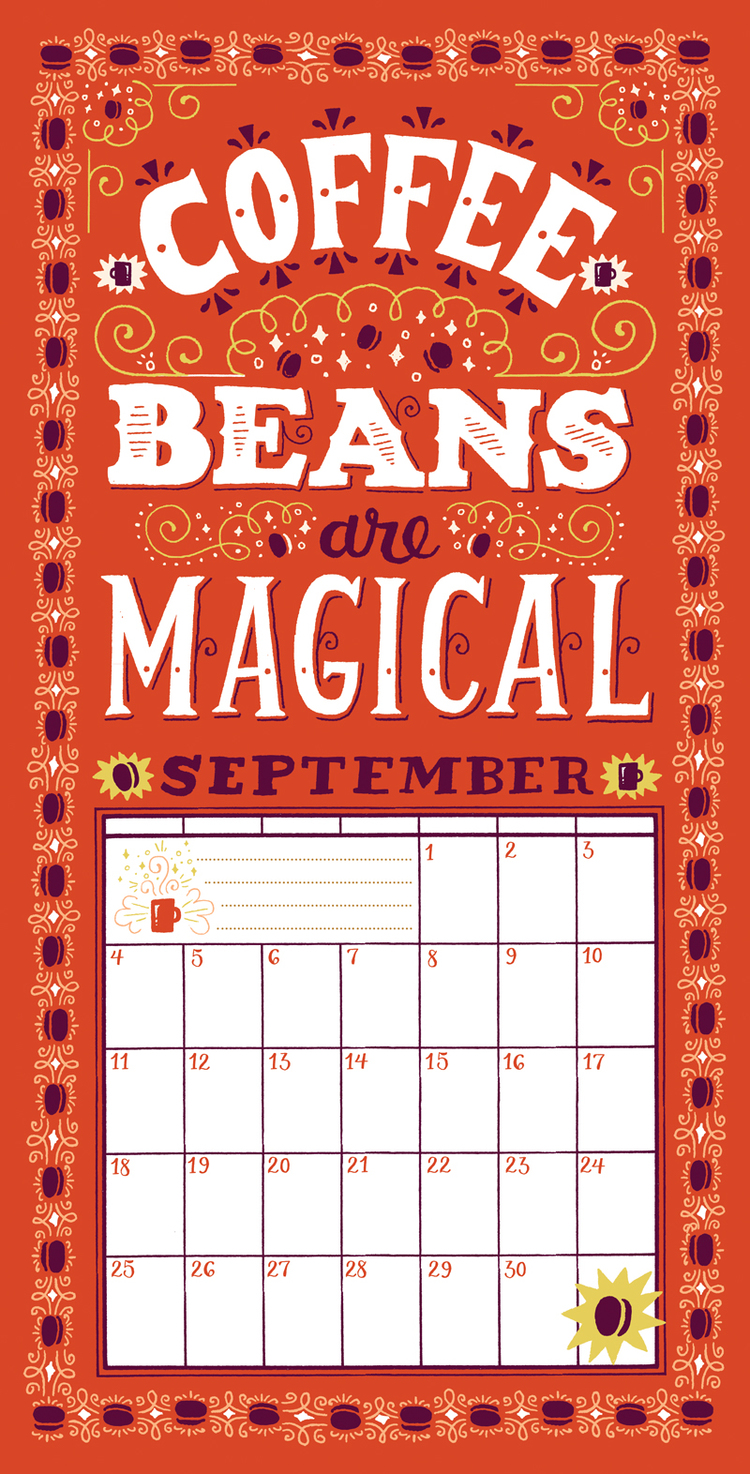 Coffee Beans Are Magical By Mary Kate McDevitt
