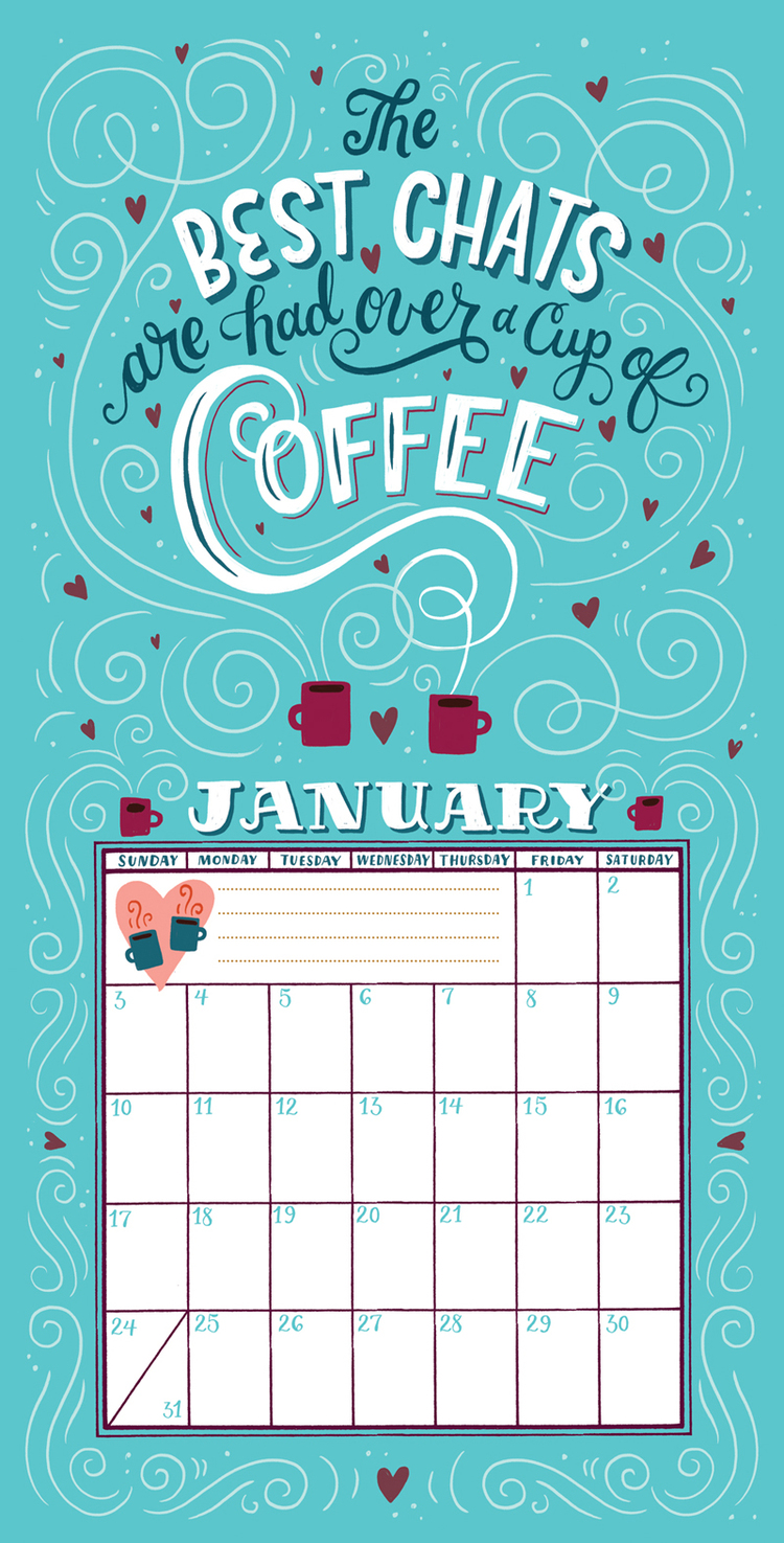 The Best Chats are had Over a Cup of Coffee By Mary Kate McDevitt