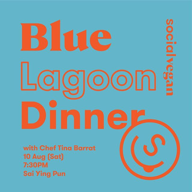 Our 💙BLUE LAGOON💙 Summer Date with Chef Tina Barrat!🎉 10 Aug 2019 (Sat) 7:30pm At Tuckshop by Social Club . Blue Lagoon is not the privilege of Icelanders😝! Our talented vegan chef Tina @cheftinabarrat is creating a vegan gourmet feast that is as beautiful as the breathtaking scenery of the Blue Lagoon. You cannot miss this! Bring your friends along to enjoy an evening of amazement🌙. If the menu already looks like it is so good that it is not from this world, how can you miss the actual dinner! 💙Clear Blue Broth with Sprouted Beans Pate, Micro Greens and Flowers 💙No-Fish Pate with Seaweeds, Chiaviar, Tartare Sauce , Herbed Cream Cheeze and Pancake 💙No-Potato Waldorf salad E3live and Garden Leaves 💙Blue Lagoon Cheese Cake, Lychee Mousse, Chocolate Truffle and Berries Blue Pea Iced Tea 🍸 will also be served! . 💃🏼Gathering starts at 7:30pm 🕺Dinner starts at 8pm 🎟Price $480 📍Tuckshop by Social Club, Shop 4-7, 158A Connaught Road West, Sai Ying Pun . Message me or Chef Tina (WhatsApp: +852 6751-7882) to make a booking - limited places only 😏! Looking forward to seeing you all there! 😋 . 好開心再一次有機會同純素生機飲食大廚Chef Tina 合作🙀😻,喺8月10號星期六晚將一個純素藍色盛宴帶俾大家!每道菜式都係Tina大廚精心設計,一定會令大家大開眼界! 座位有限,記住快啲訂位喇 !可以message我或者 Chef Tina (+852 6751-7882)! 到時喺 @tuckshopbysocialclub 見!😋 . #socialveganhk #vegank #rawvegan #vegan #plantbased #bluelagoon #rawchef #chef #foodie #whatveganseat #vegansofig #healthyfood #healthyeats #veganfood #veganfoodshare #plantpowered #hongkong #hkrestaurant #hkfoodie #food #vegandesserts #foodblogger #foodpic #dinner #hungry #hkig