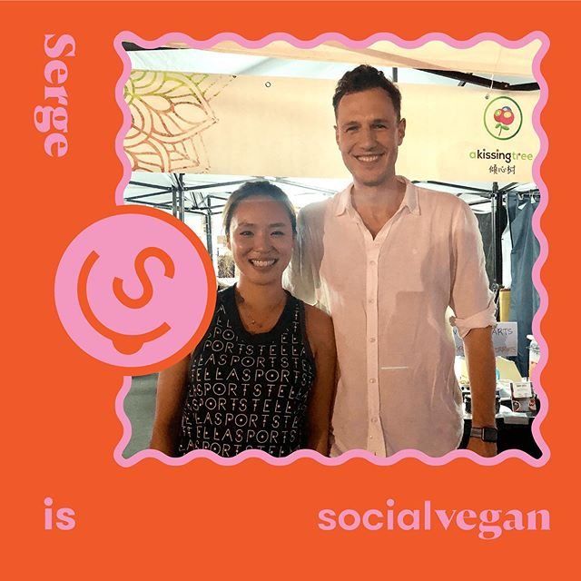"Meet SocialVegan #116 - Serge @akissingtree (Part 1️⃣) . One half of @akissingtree - the self-proclaimed charming funny curious guy - Serge🎉! I've heard so much about these two lovely ones 👫behind @akissingtree Serge and Gemma - everyone loves them! It was only when I finally get to meet them that I understood why😁. Super chill, friendly and good vibes radiators. They are just two open-minded, curious, fun-loving human beings and will make you smile uncontrollably 😝 They make you feel like there's no place for doubts and negative emotions in our lives and everything is possible as long as you try! . Speaking of the need to reflect and explore our relationship with food, Serge is the perfect example. He is always thinking about how best to approach his lifestyle, and how to make it better for others too. With @akissingtree , it means much more than just the SUPER CRUNCHY berries 🍓in our mouths. It is a project that helps farmers from Serbia, promote fair trade and save them from exploitation by big corporations. It connects berry creators with berry lovers, for a good social cause. . And putting in a word for @akissingtree - you can eat their freeze-dried berries as snacks directly if you are wondering what to do with them🤤! They are not that scary or hard to conquer - just a little addictive and too delicious to stay in their jars for too long! And they have also now partnered with many other gourmet food producers like @foodcraft_hk to bring a lot of delicious products to us all. Stay tuned!💪🏾 . To Serge!🙌🏼 . 👀Who are you SocialVegan x Curious x Inappropriately Funny x Charming . 👱🏻‍♂️SocialVegan type Hmm. I generally stick to whole foods and try my best not to eat meat and dairy especially if outside of the house! As my other half says ""I'm only Vegan because I want attention!"" But seriously, I try to stay away from anything with a ""blood diamond"" type background. . #socialveganhk #conscious #sustainable #berries #hongkong #lifestyle #eathealthy #eatclean #smoothiebowl #smoothies #wholefood #food #inspiration #entrepreneur #startup #breakfast #healthyfood #healthy"