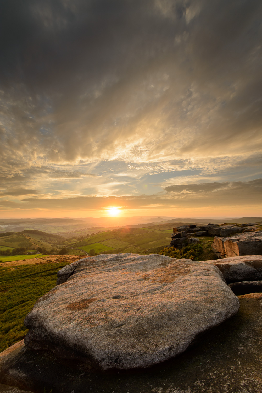 Higgar Tor Sunset