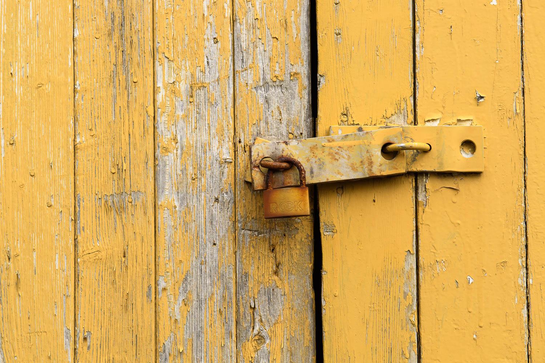Door Hinge and Lock