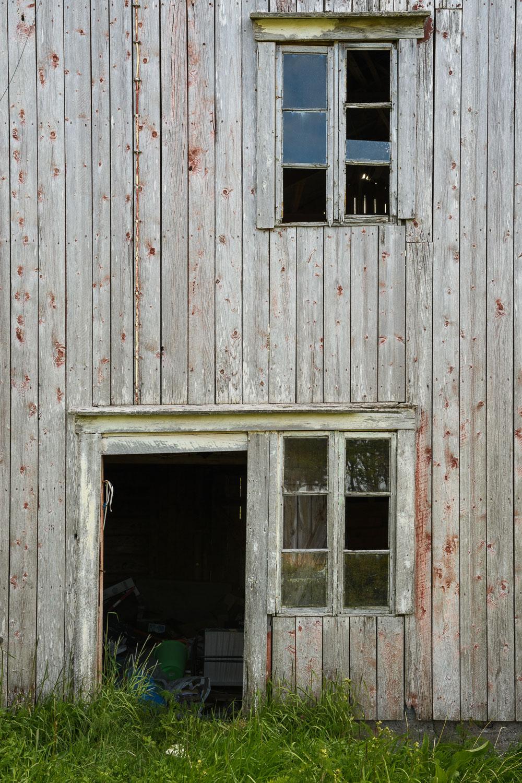 Windows and a Door