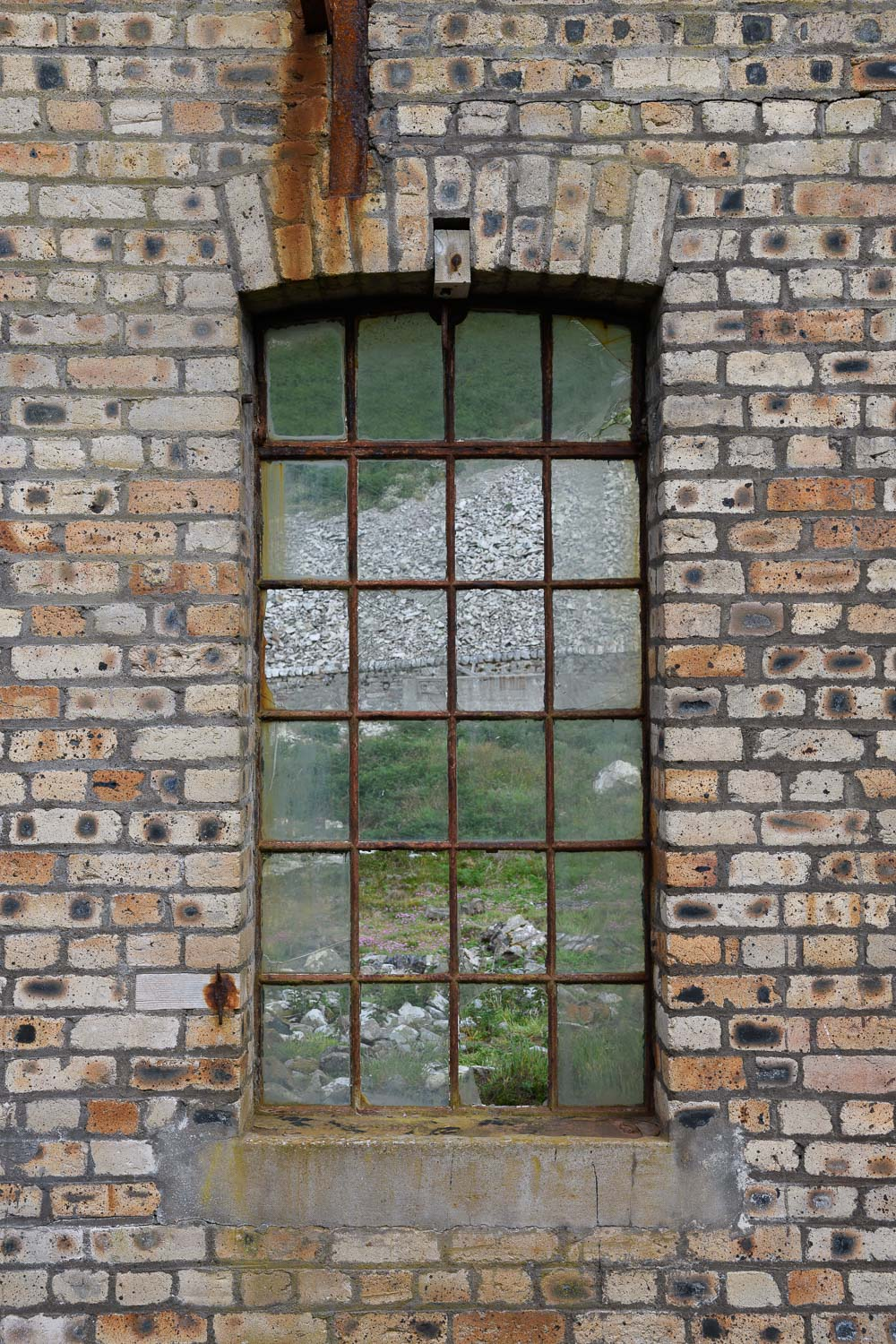 Window In A Disused Building