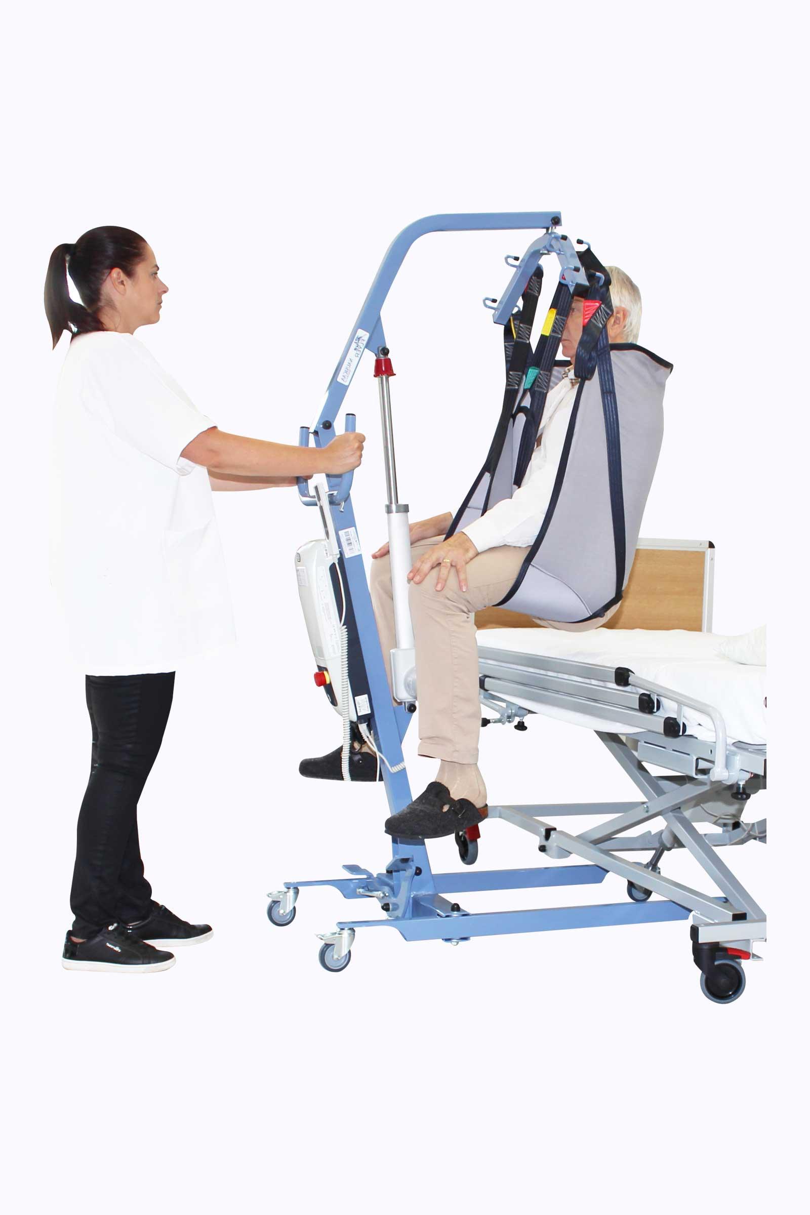 Lève-Personne Blue Flyer de chez Nausicaa Medical