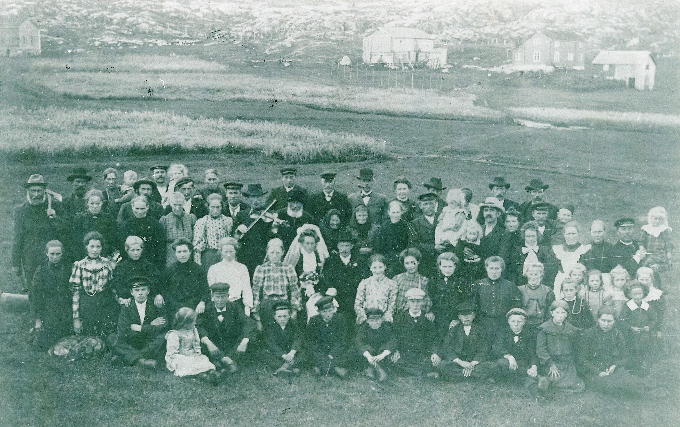 Bryllup Børøsundet 1906