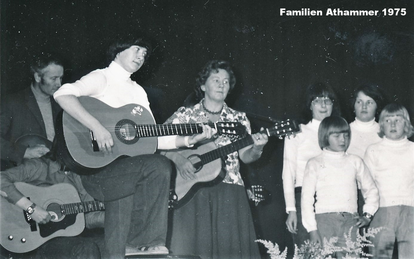 Familien Athammer 1975