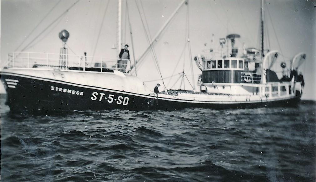 """""""Strømegg"""" av Hestvika med sildelast. (Bildene tilhører Jorunn Jektvik)"""