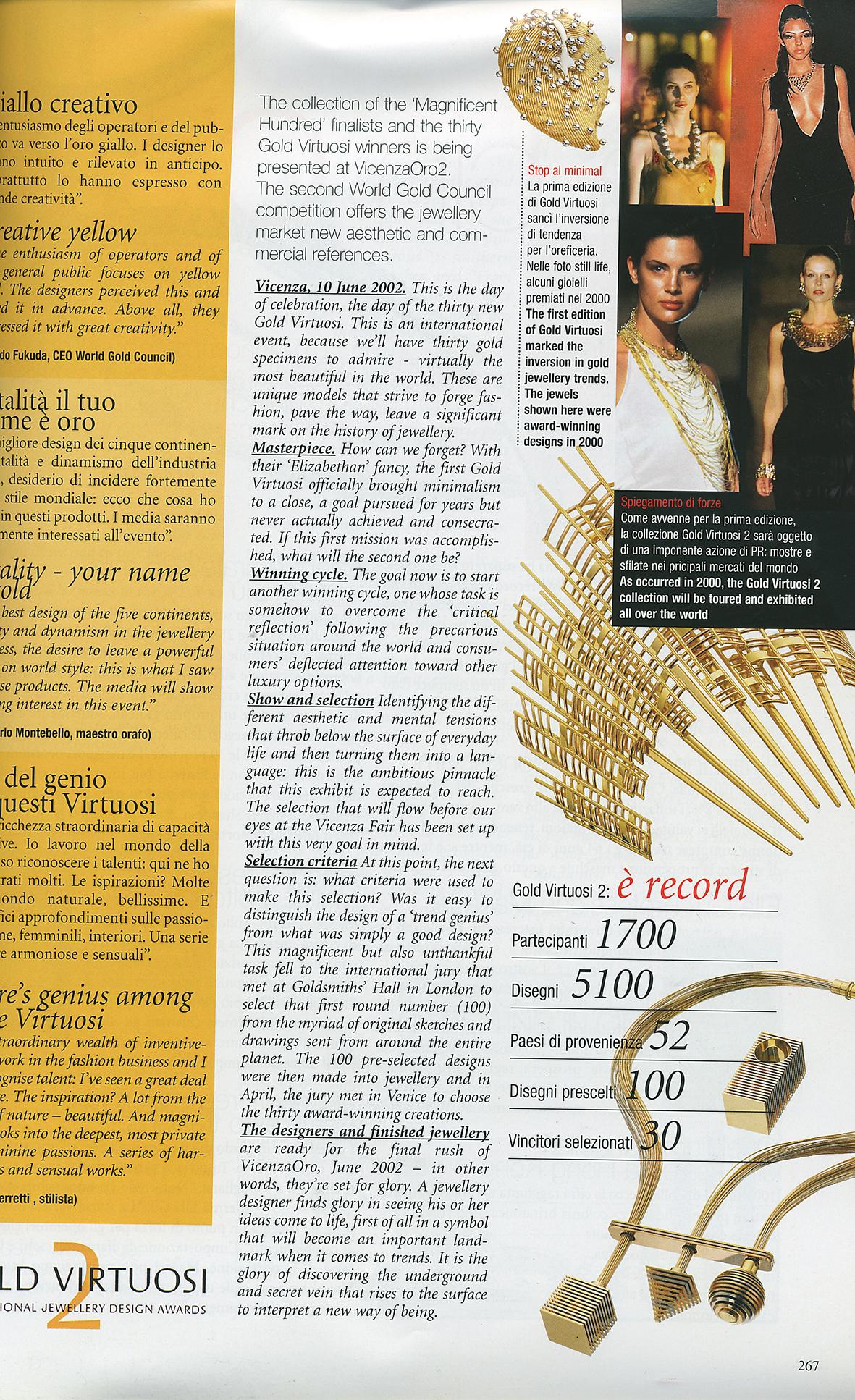 VICENZAORO MAGAZINE 2002