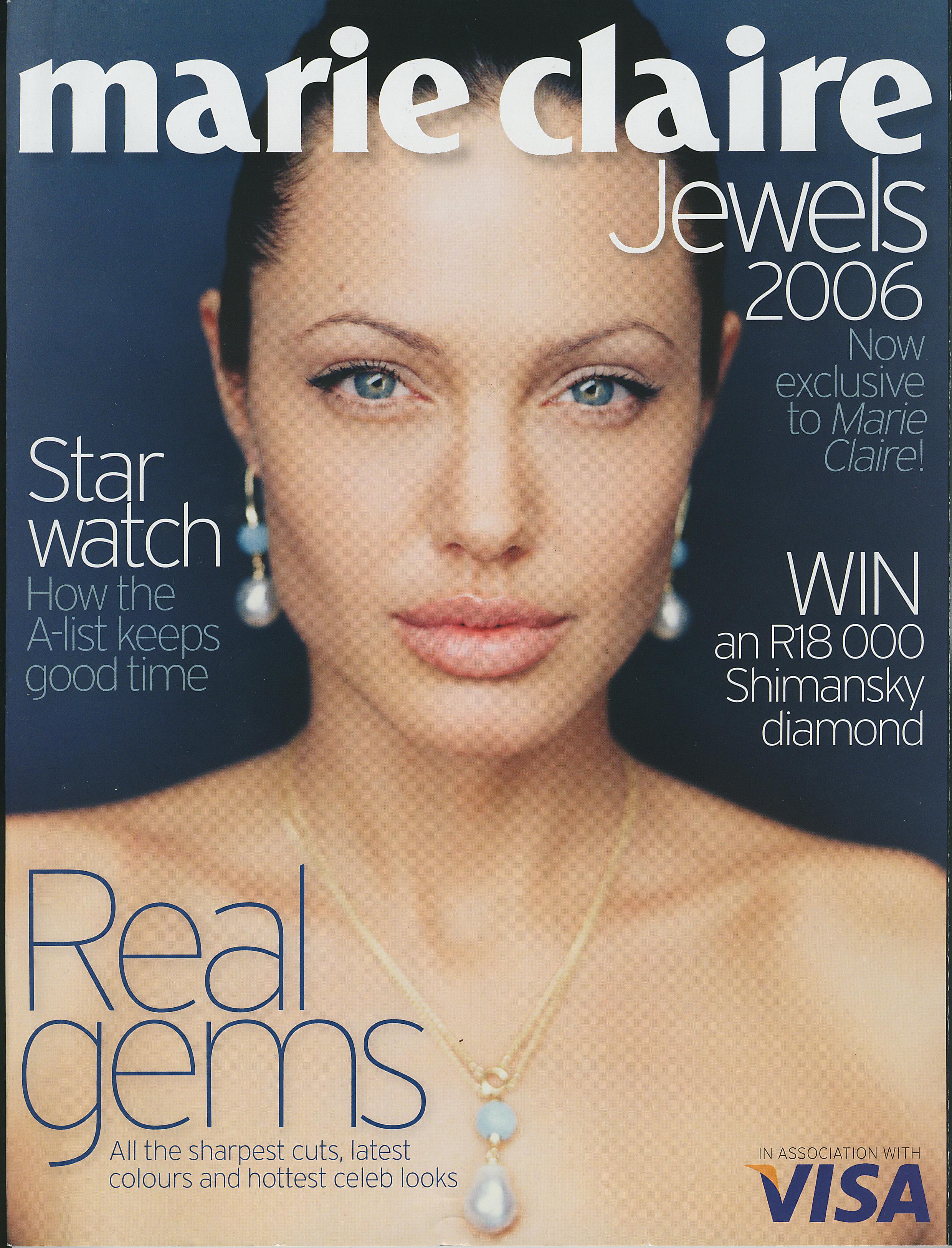 MARIE CLAIRE JEWELS DEC 2006