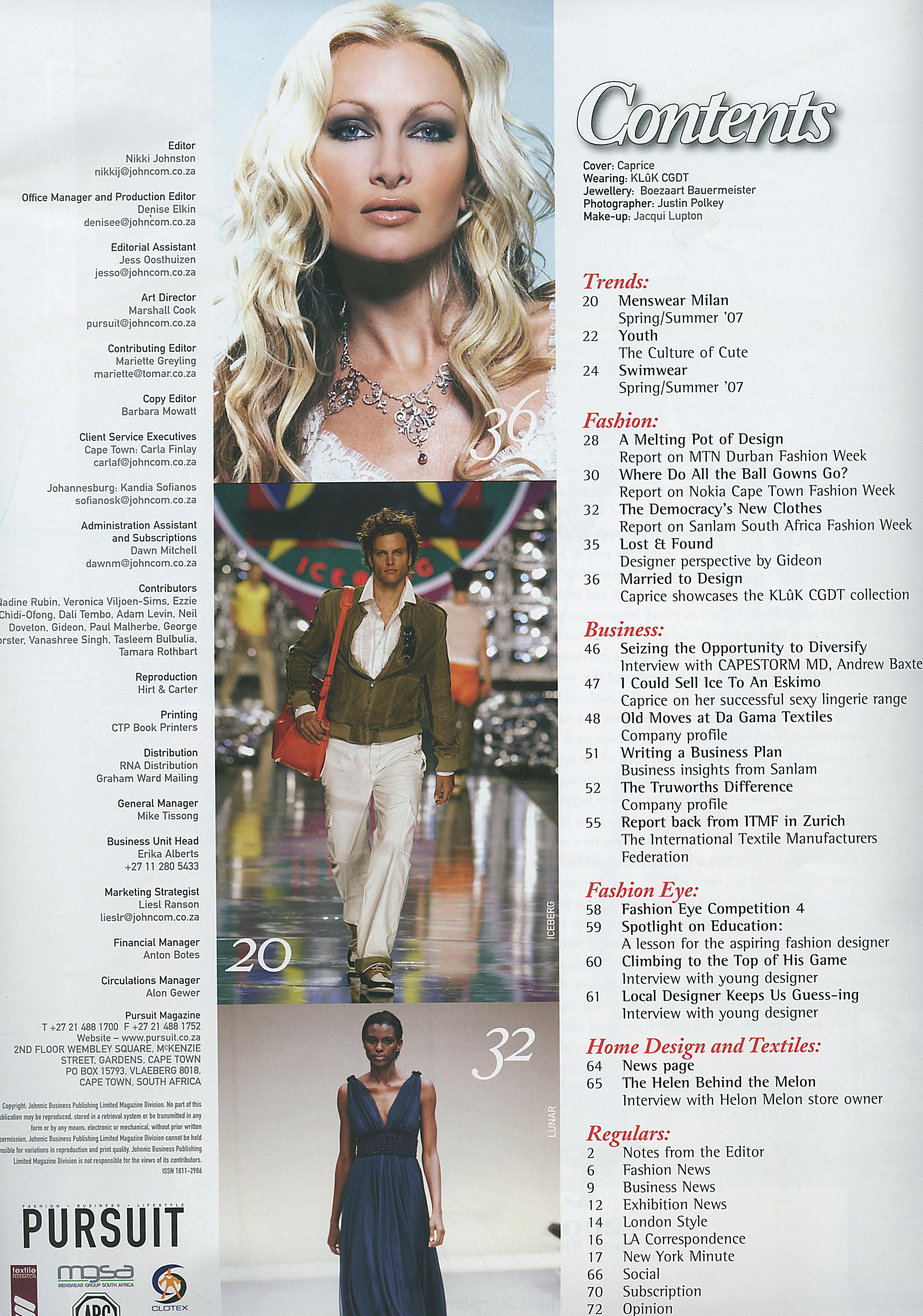 PURSUIT ISSUE 4 2006