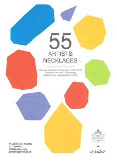55 ARTISTS NECKLACES EXHIBITION - LIZ LOUBSER GALLERY 2014