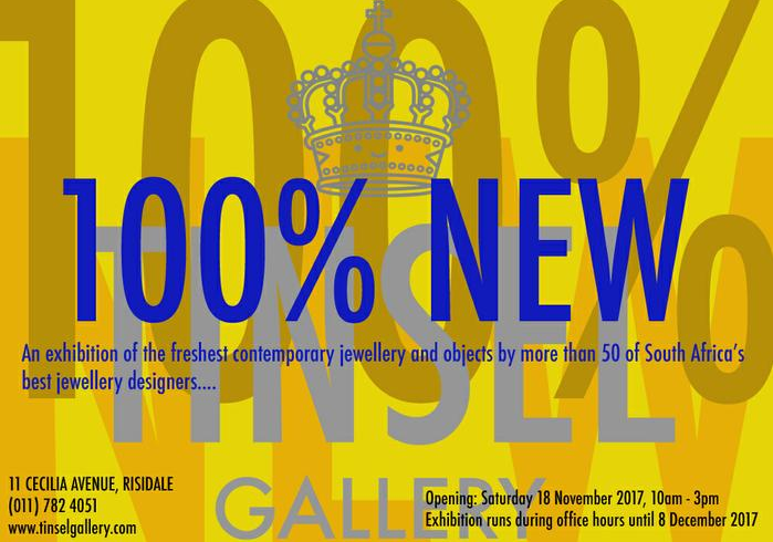 100% NEW GROUP EXHIBITION - TINSEL GALLERY 2017