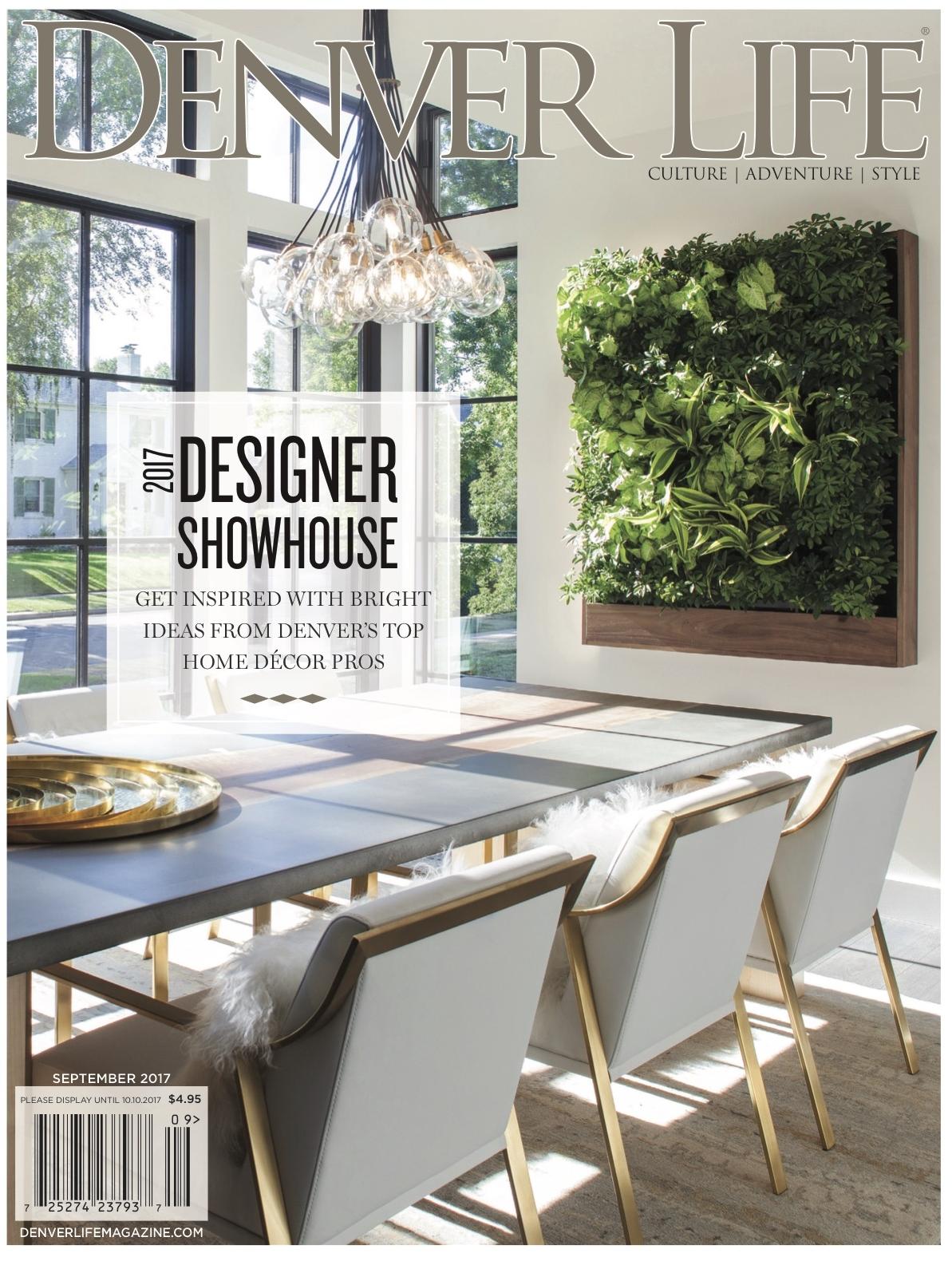 Sept 2017  Denver Life Home + Design   Designer Showhouse- Kitchen & Butler's Pantry