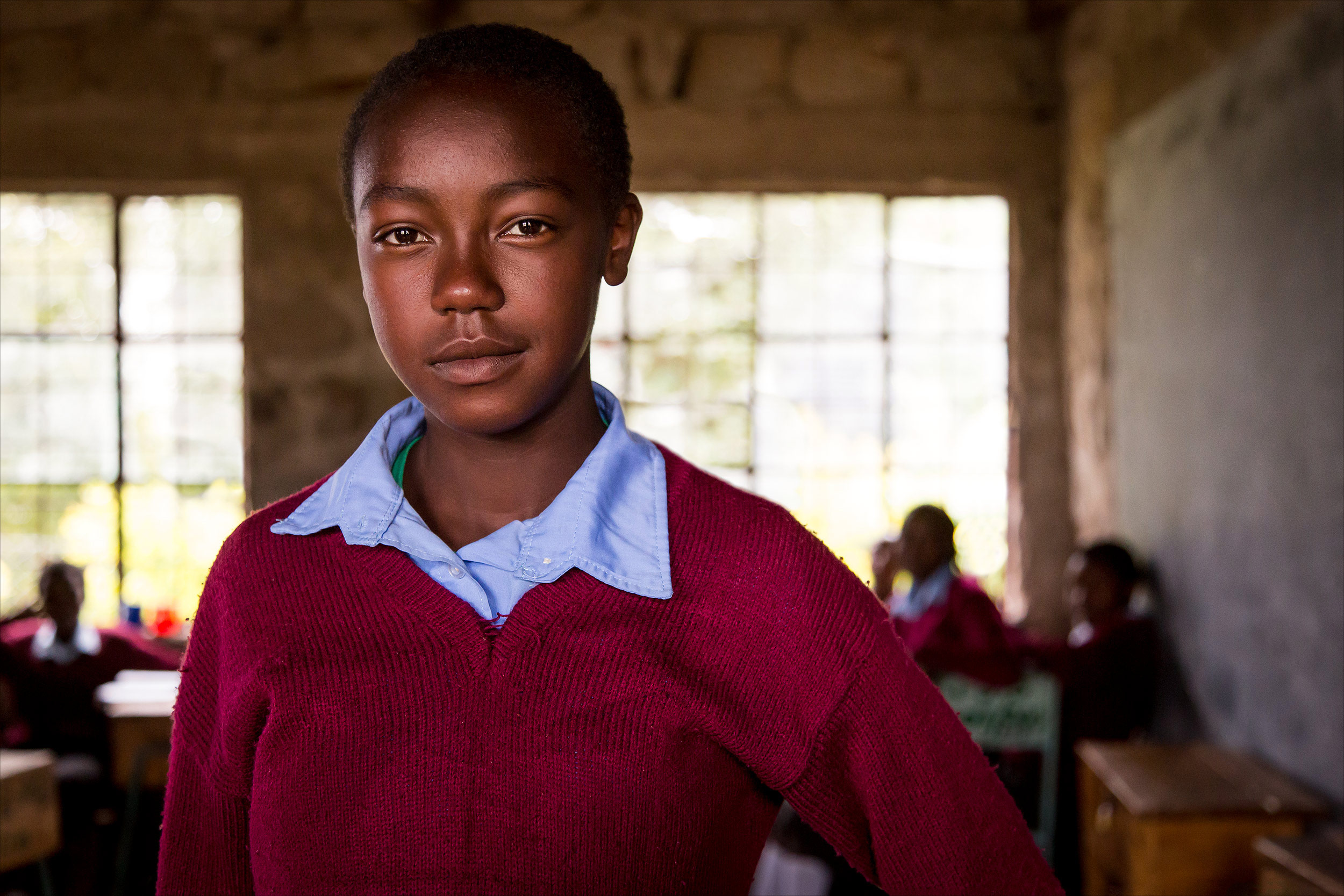 Secondary school student, Kenya