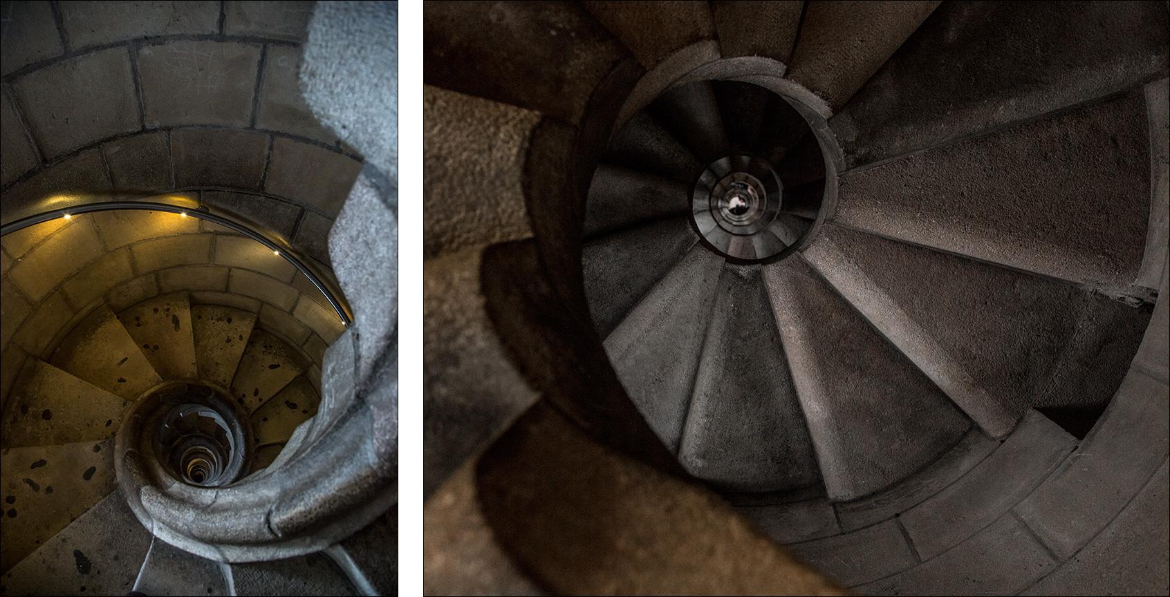 Spiral Staircase, Sagrada Familia, Barcelona.