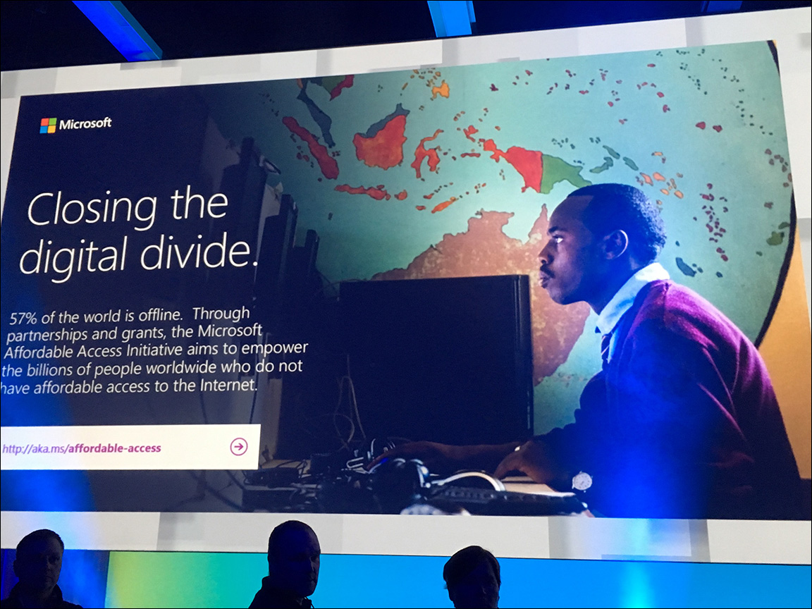 Kenya slide at Microsoft Build 2017